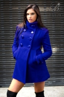 JOANNA COAT BLUE