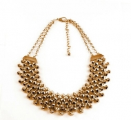 PARTY STUDZ GOLD NECKLACE