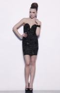 REILLY DRESS - black/black