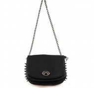 SPIKE ME BAG BLACK