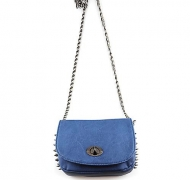 SPIKE ME BAG BLUE